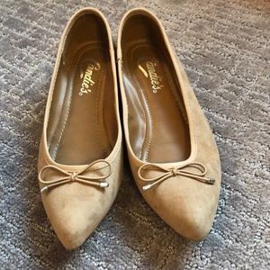 Candie's pointed slip on shoes